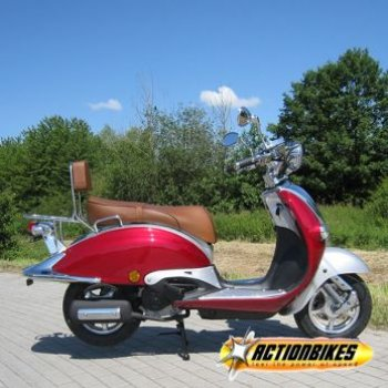 Znen Retro Scooter ZN50QT-HS - 25 km/h