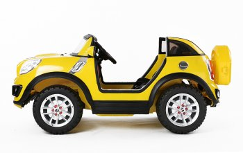 Lizenz Elektro Kinderauto Mini Comberman 2 x 35W | 6V | MP3 | RC