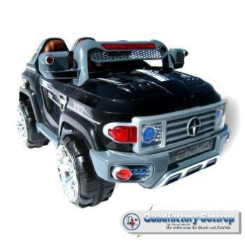 Elektroauto MB Space Jeep SUV 9922 - 2 x 35 Watt Motor