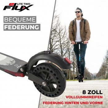 eFlux Lite Two 8 Zoll 500 Watt Motor