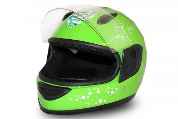 Full Face Helmet Black | Kinderhelm | Integralhelm | Motorradhelm