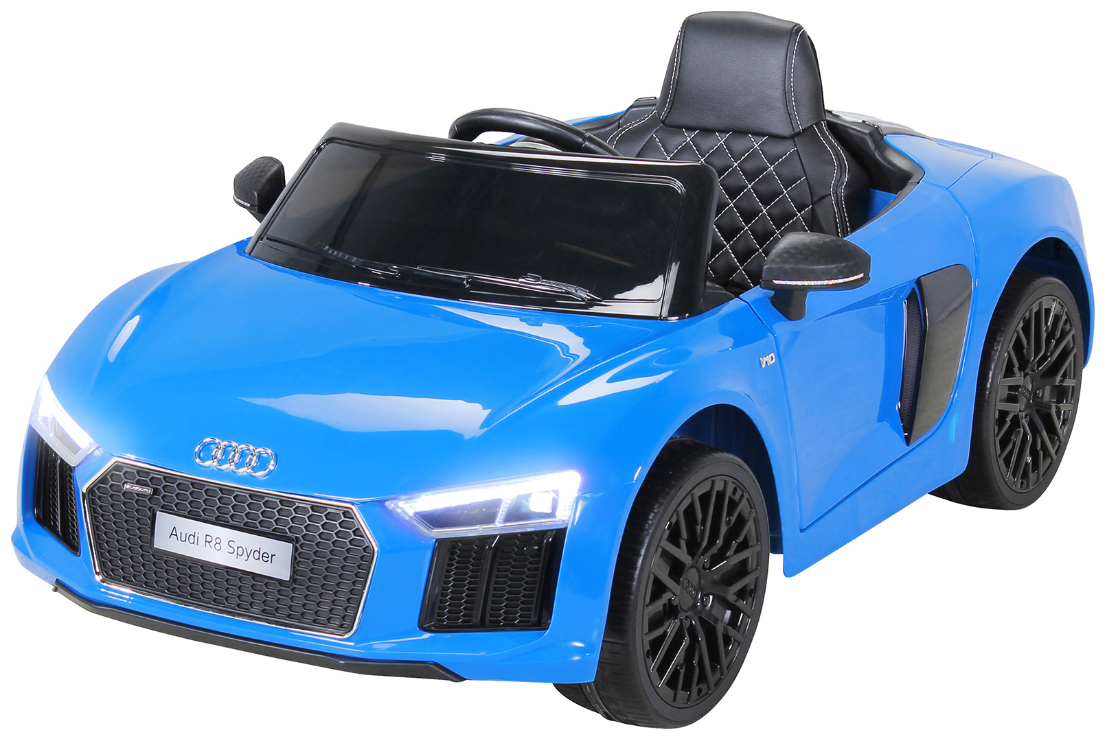 quadfactory bottrop kinder elektroauto audi r8 spyder. Black Bedroom Furniture Sets. Home Design Ideas