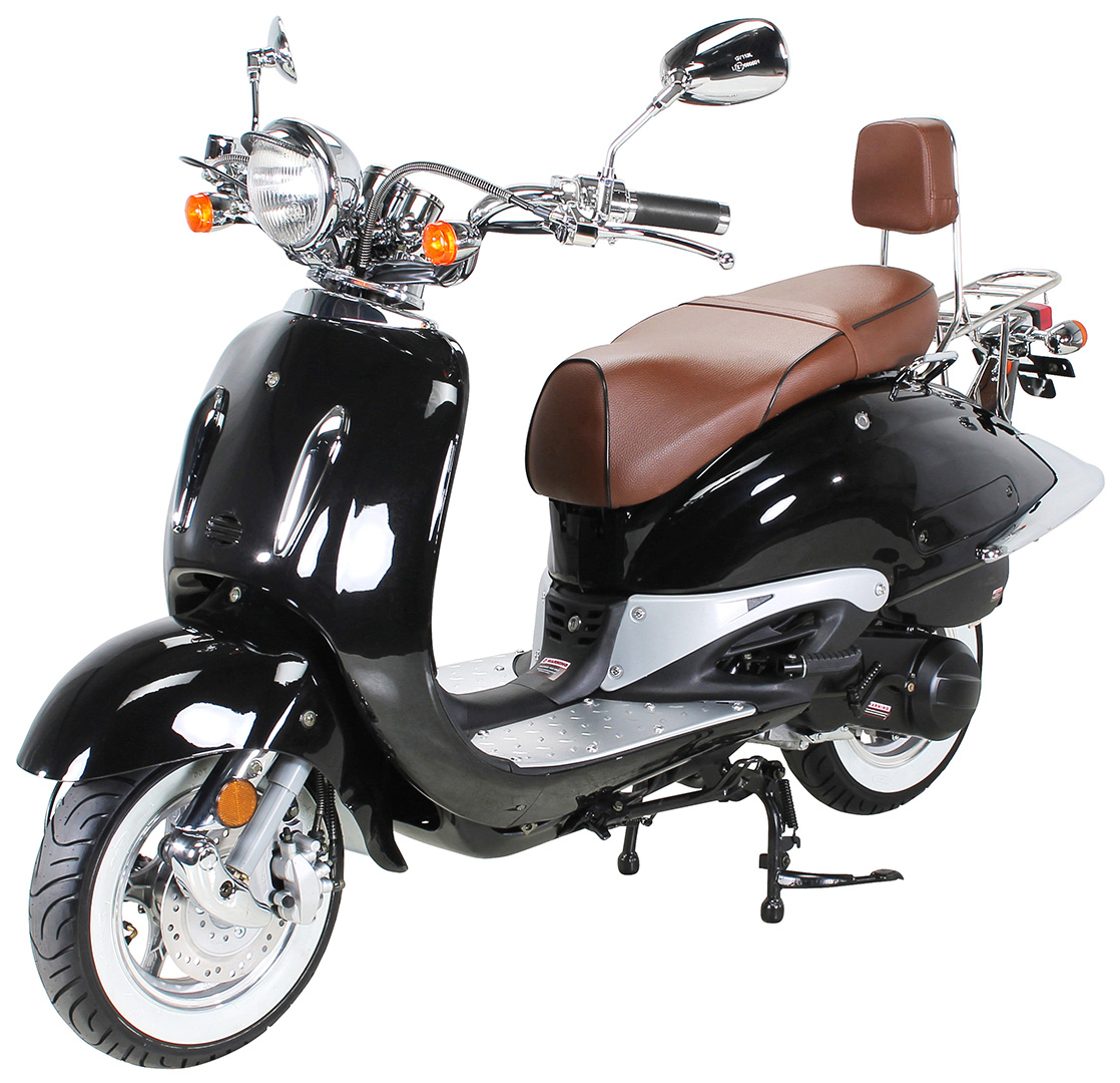 Quadfactory Bottrop Znen Retro Classic Motorroller Zn125t E Euro 4