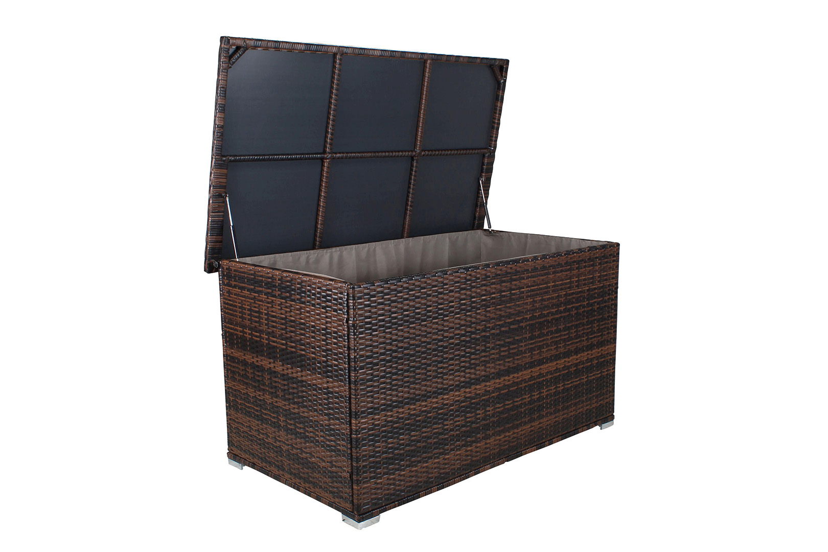 quadfactory bottrop miweba caribbian polyrattan auflagenbox grande 950 liter. Black Bedroom Furniture Sets. Home Design Ideas