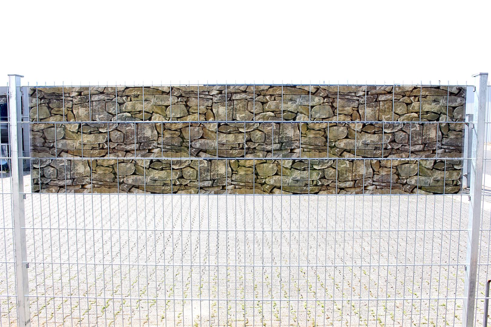 Quadfactory Bottrop Miweba Vandegard Zaun Sichtschutz Secret