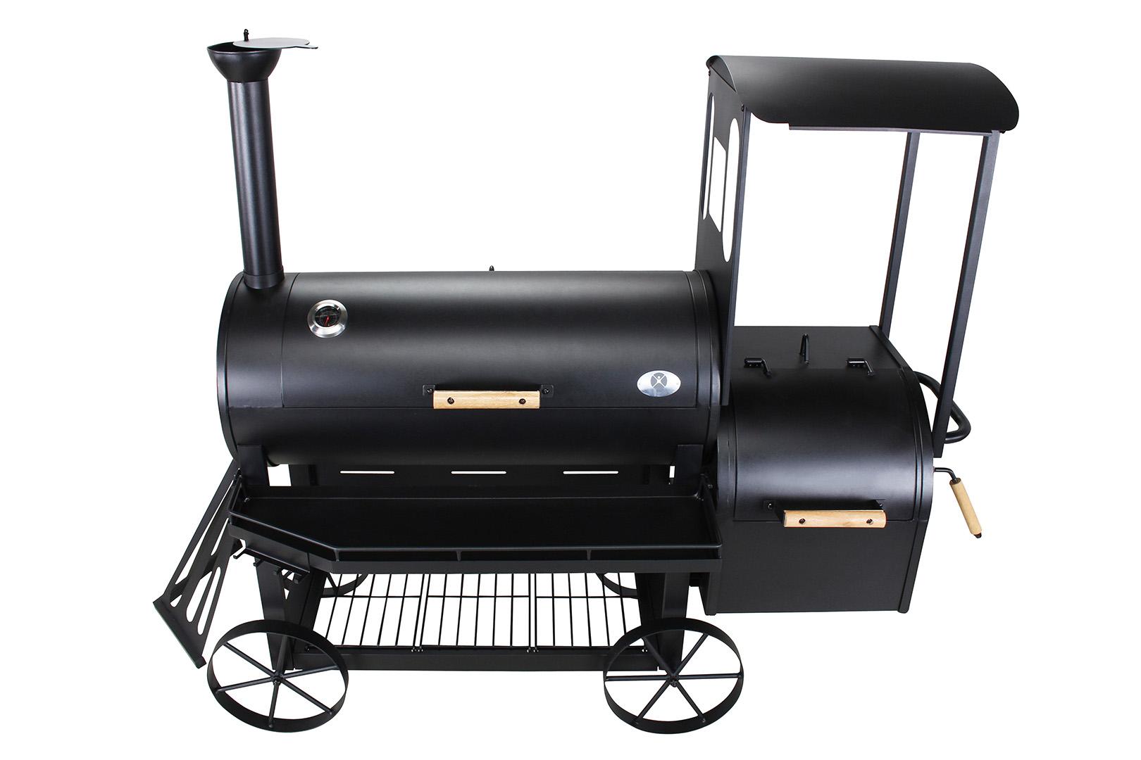 Gas Und Holzkohlegrill Mit Smoker : El fuego ay smoker holzkohlegrill ottawa s grill grillwagen
