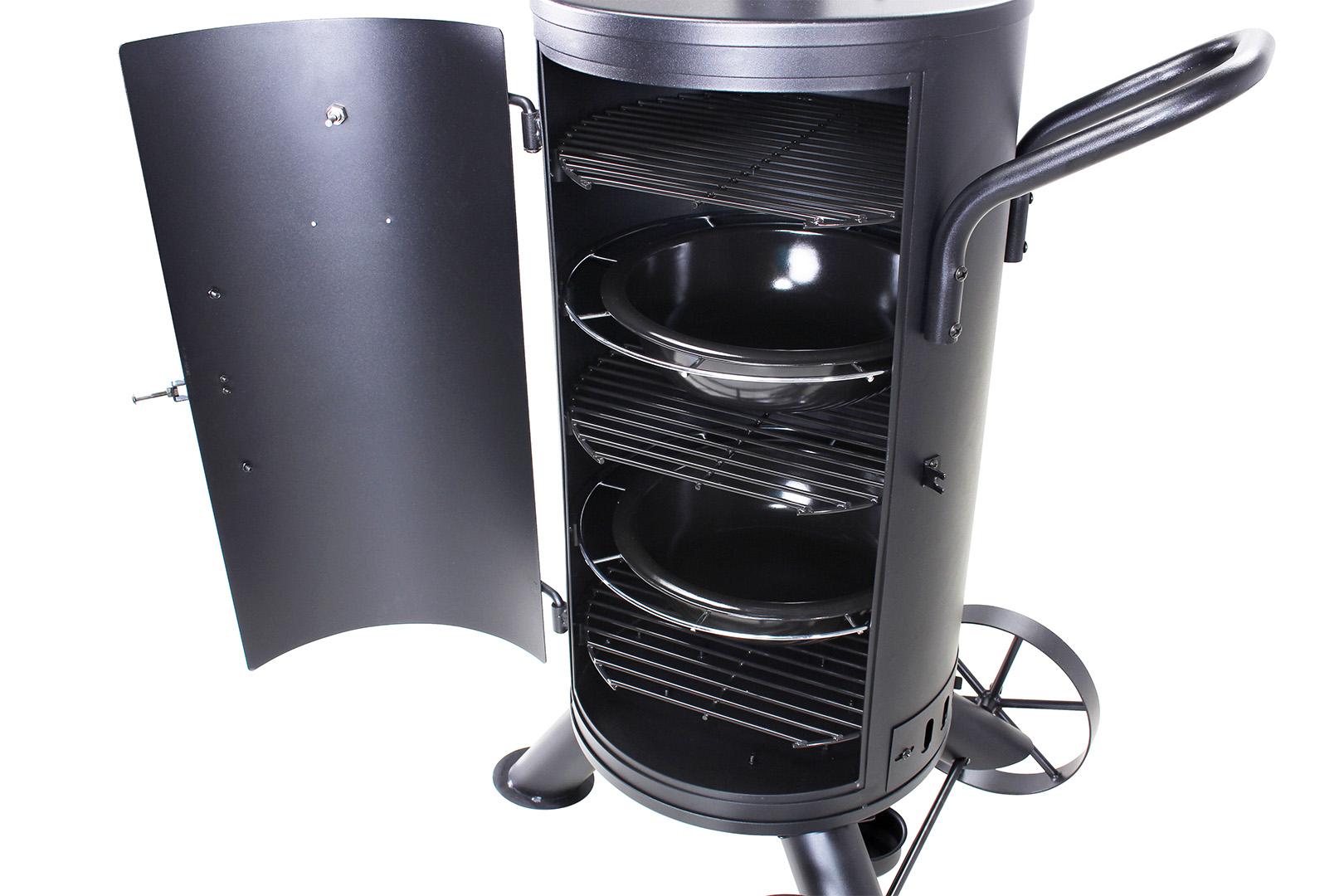 Gas Und Holzkohlegrill Mit Smoker : Uten holzkohlegrill picknickgrill faltbarer grill freizeit