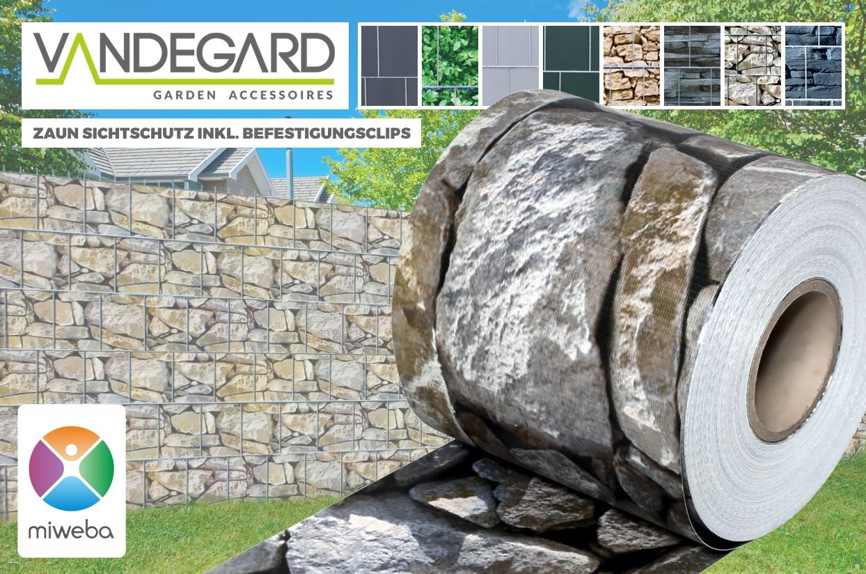 Quadfactory Bottrop Miweba Vandegard Zaun Sichtschutz Secret Garden