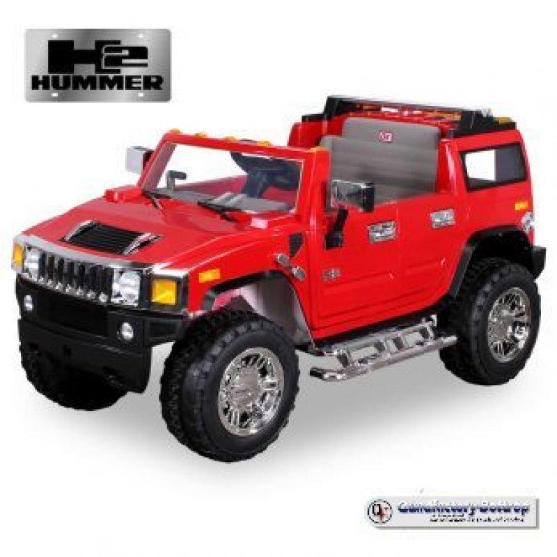 quadfactory bottrop kinder elektroauto jeep hummer h2 mit 2 x 45 watt motor. Black Bedroom Furniture Sets. Home Design Ideas