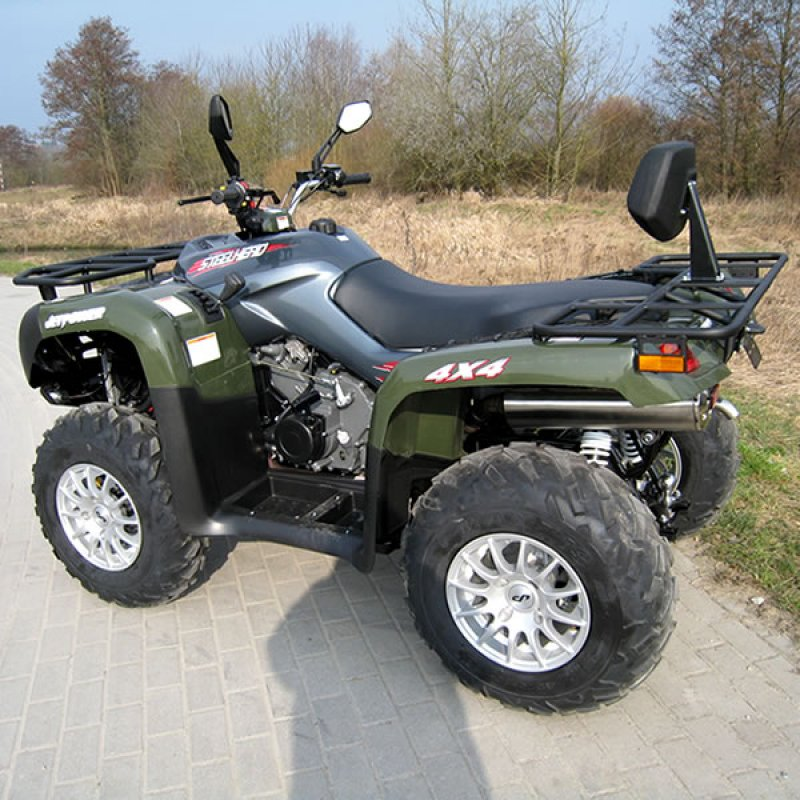 JETPOWER STEELHEAD 700 Allradquad 4 x 4