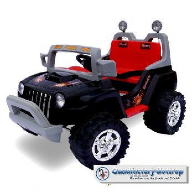 quadfactory bottrop elektro kinder jeep mit 2 motoren. Black Bedroom Furniture Sets. Home Design Ideas